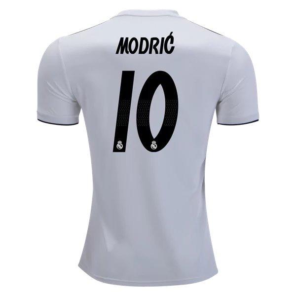 1f18d57cf04e4 Nueva Playera Jersey Real Madrid Fifa Modric   10 2018-2019 ...