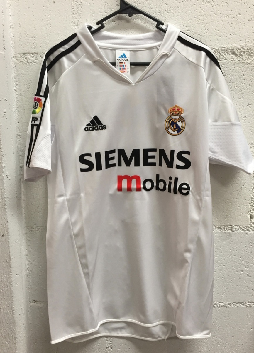 new styles 8023a 406a7 Real Madrid Jersey Galacticos Zidane