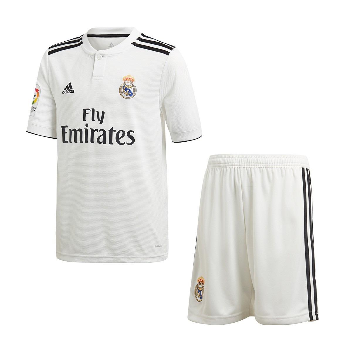 Real Madrid Nuevo Uniforme Niños 2019 -   59.990 en Mercado Libre d82d9ad76fed4