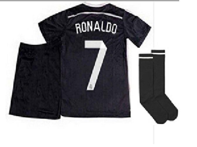 Real Madrid Ronaldo - Niños (camiseta + Short + Medias) -   790 909296058fedc