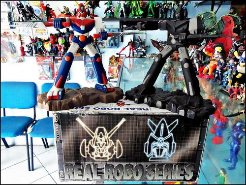 real robo series,banpresto,japoneses,par de robots,mazinguer