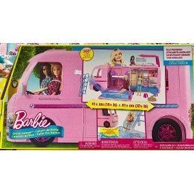 real trailer dos sonhos da barbie  mattell - fbr34