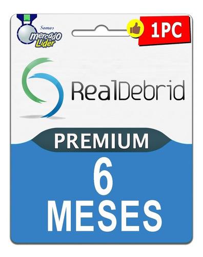 realdebrid 180 dias 80 cuenta premium mega uploaded 1fichier