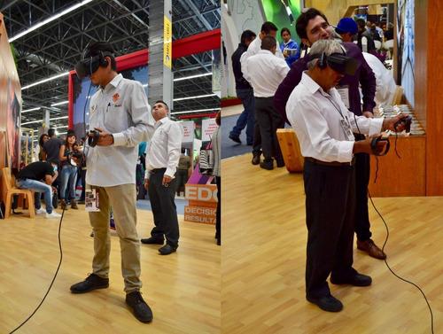 realidad virtual 3d software oculus rift app