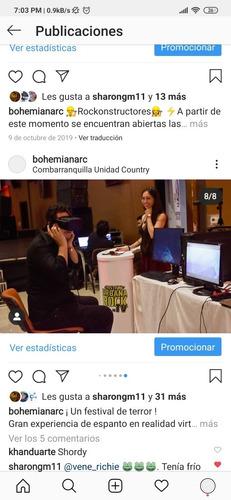 realidad virtual, eventos, realidad aumentada