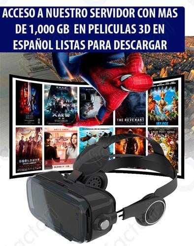 realidad virtual vr lentes audifonos integrados alta calidad