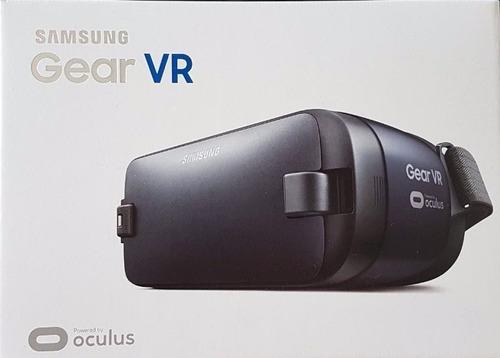 Óculos De Realidade Virtual Samsung Gear Vr - Preto - R  370,00 em ... fe2672edbf