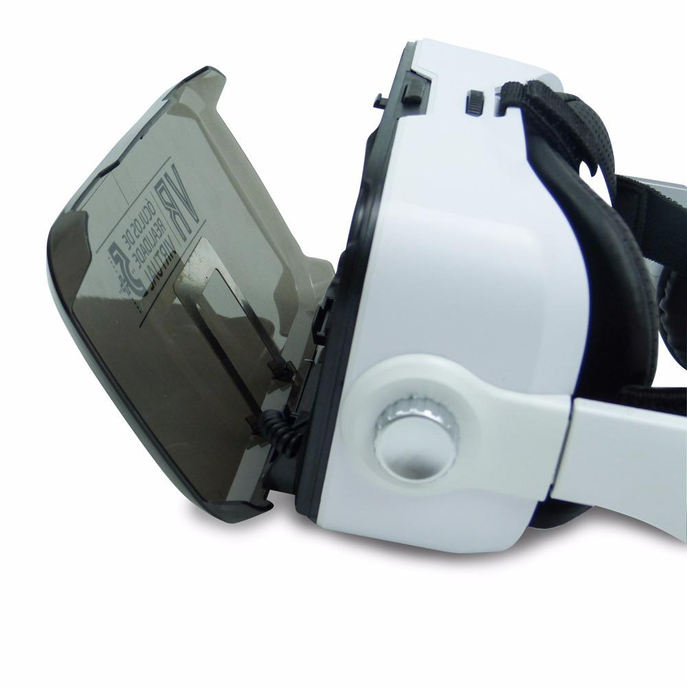 Óculos Realidade Virtual Vr 5+ C  Headphone Jogo Vídeo Filme - R ... a127f36471
