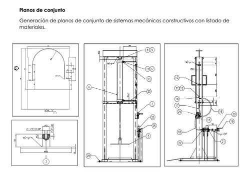 realizacion de planos de ingenieria.