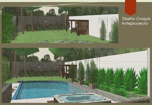 realización de proyectos paisajismo