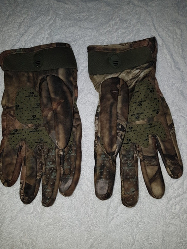 realtree camo guantes caceria camuflaje hunting gloves