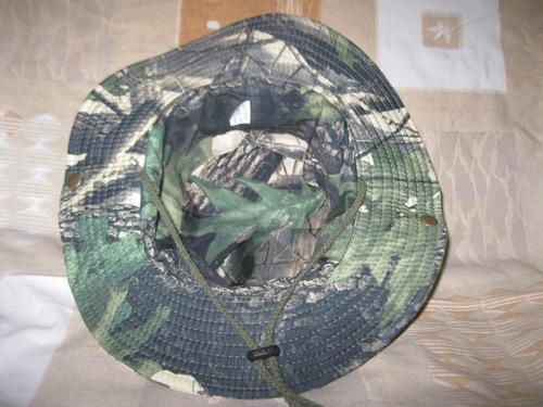 realtree   sombrero camping caza/pesca  mimetismo outdoor