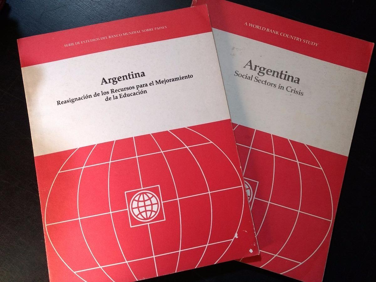 Reasignacion Recursos Educacion Argentina Social Crisis C52 - $ 218 ...