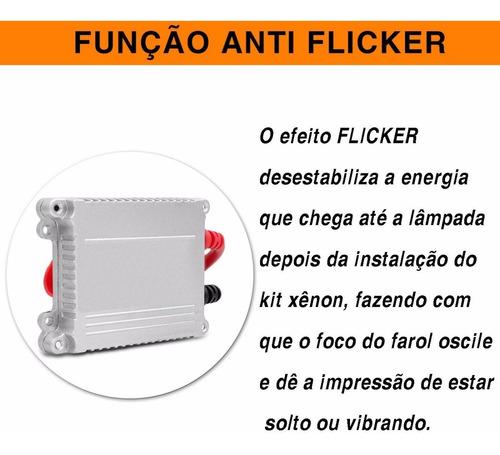 reator anti flicker xenon 12v 35w reposição universal