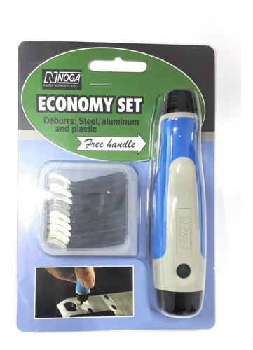 rebabador noga economy set - ng8200 20 cuchillas