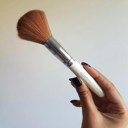 reputable site aec14 8a6e5 rebajada! brocha pincel para polvos elf - total face brush
