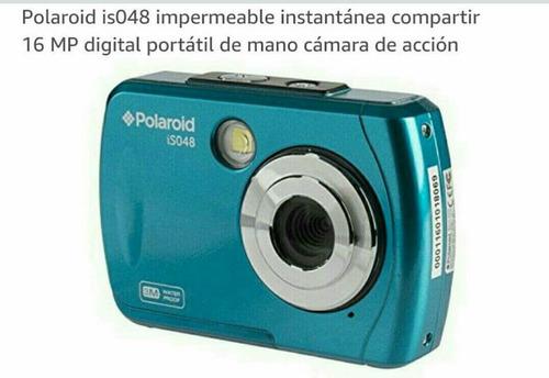 rebajada camara digital polaroid sumergible 3 m / 16 mp