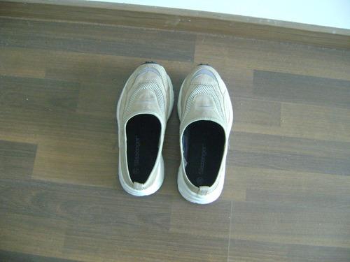 rebajadas zapatillas slazenger beige tipo zuecos 35 nuevas