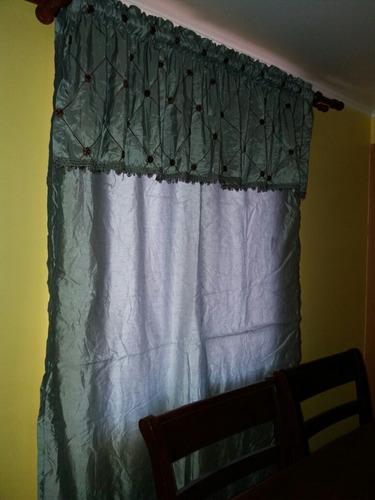rebajado!! cortina y cenefa