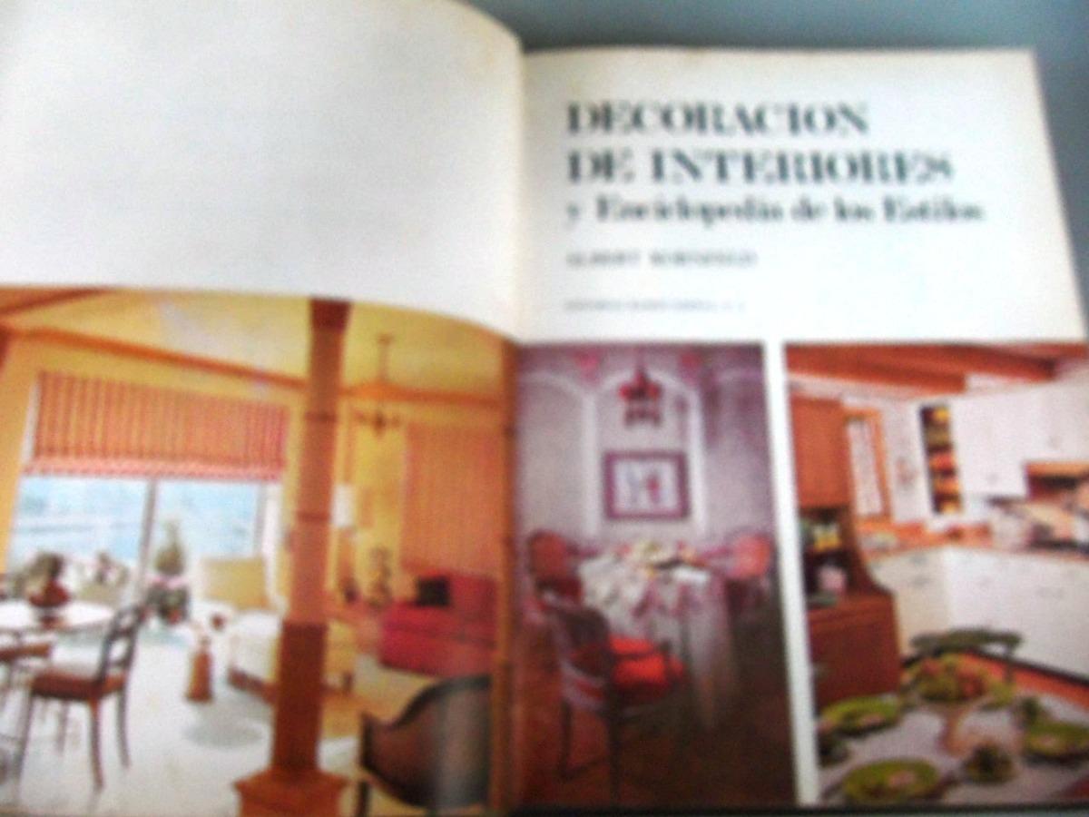 Rebajado Vintage Decoración Interiores Enciclopedia Estilos - Bs ...