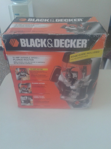 rebajadora router black and decker