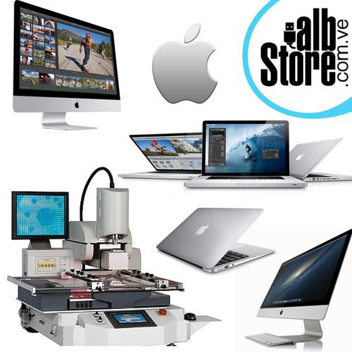 reballing infrarojo apple imac pro macbook air pro mac mini