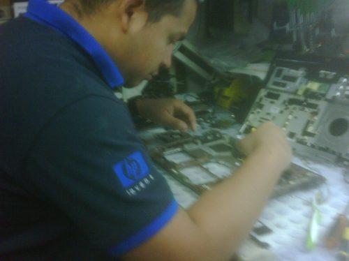 reballing laptops portatiles hp compaq acer dell toshiba