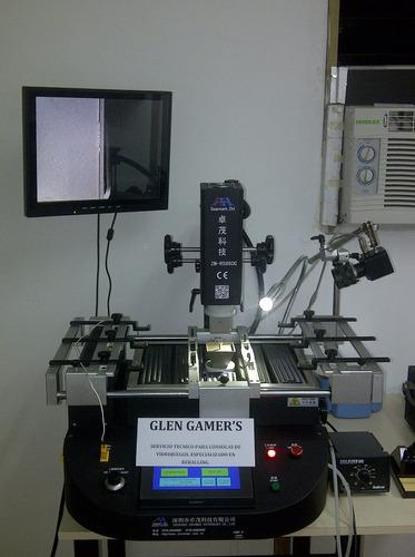 reballing para ps3, ps4, xbox 360, slim, servicio tecnico.