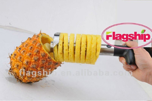 rebanador cortador de piña en acero inoxidable