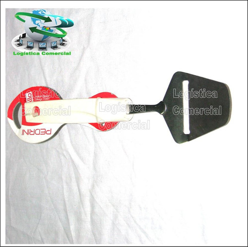 rebanador cortador de queso espátula acero pedrini