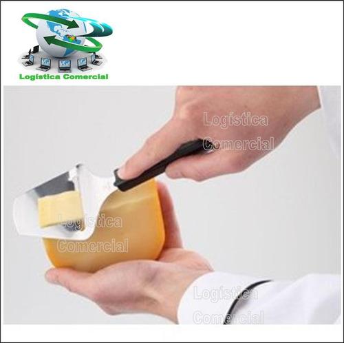 rebanador cortador de queso espátula acero stainlees steel