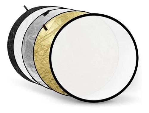 rebatedor circular 5 em 1 de 110cm com case