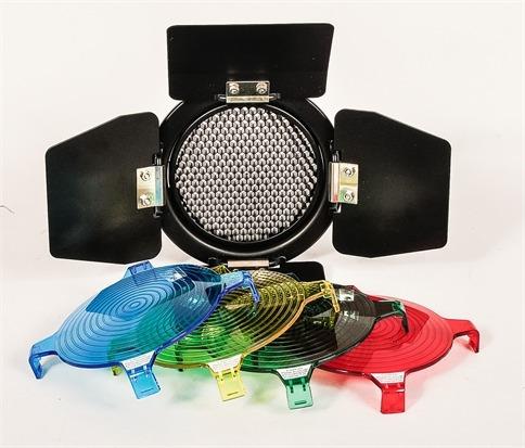 rebatedor para flashs k150a, 160 e 250di greika (barndoor)