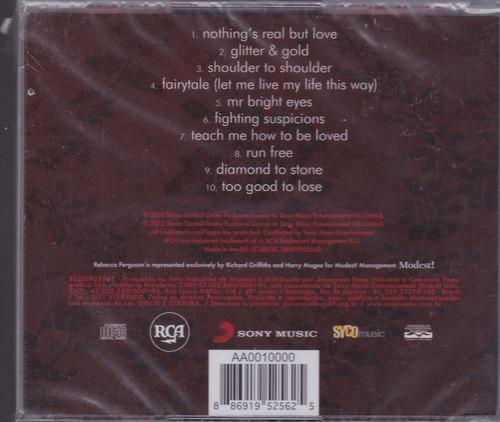 rebecca ferguson - cd heaven - 2011 - lacrado de fábrica
