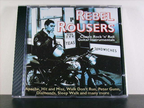 rebel rousers classic rock n roll guitar instrumental cd av8
