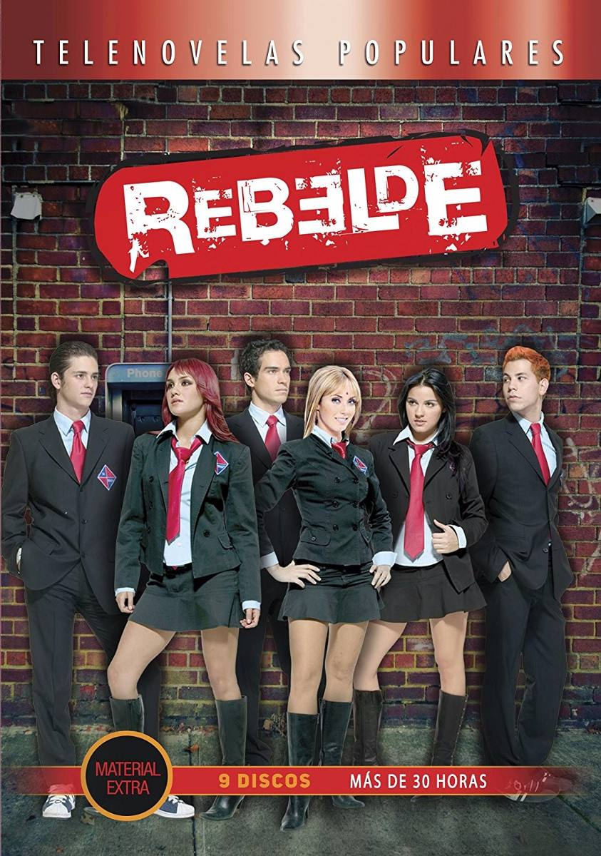 Rebelde Rbd Temporada 1,2 Y 3 Paquete Telenovela Anahi
