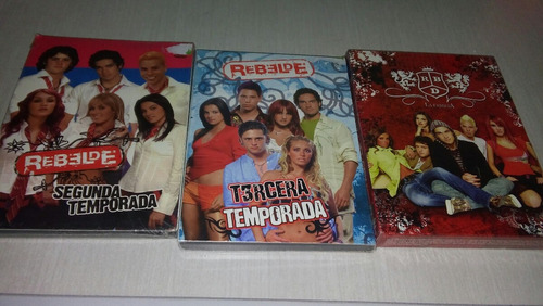 rebelde telenovela 3 temporadas nuevas y selladas