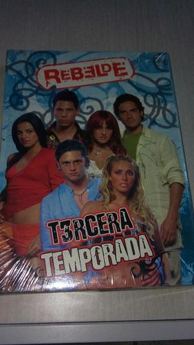 rebelde telenovela tercera temporada nueva y sellada origina