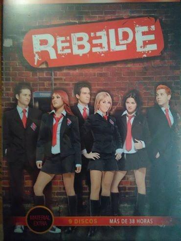 Rebelde Temporada 1, 2 Y 3 ( La Novela ) ( Rbd)