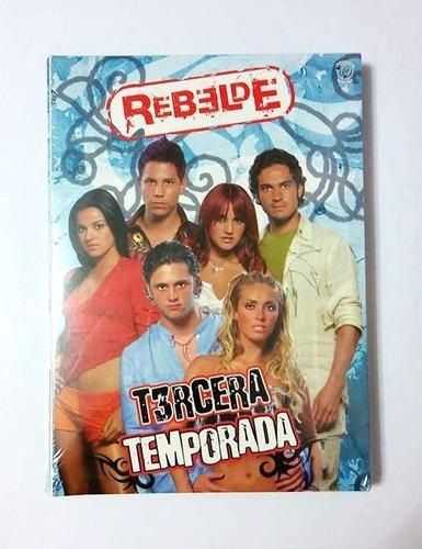rebelde tercera temporada (dvd) (rbd) (sellado de fábrica)