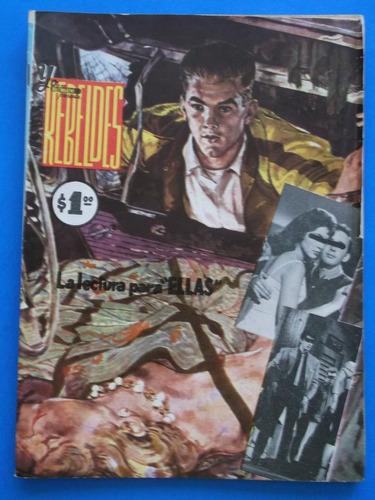 rebeldes # 2 editorial magazine continental enero 1961