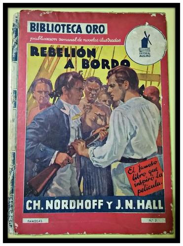 rebelión a bordo  nordhoff - hall