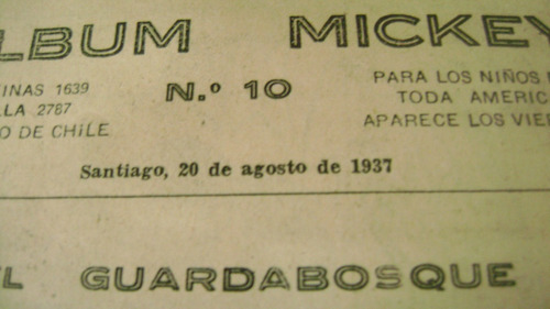 rebista  albnun micket  1936.