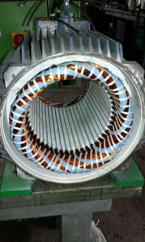 rebobinado de motores eléctricos,