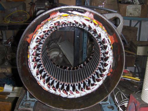rebobinado de motores eléctricos  en general y bombas para a