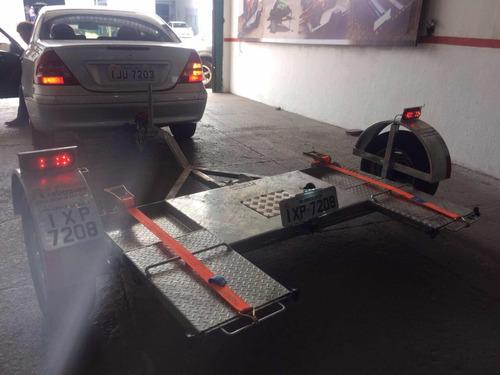 reboque transkar asa delta carro - premium reboques