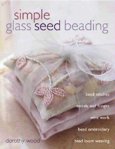 reborde de semilla de vidrio simple
