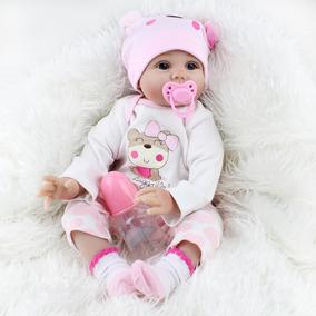 55cm Simulación Niños Baby Reborn Juguete Silicona Doll P eE2YWIbH9D