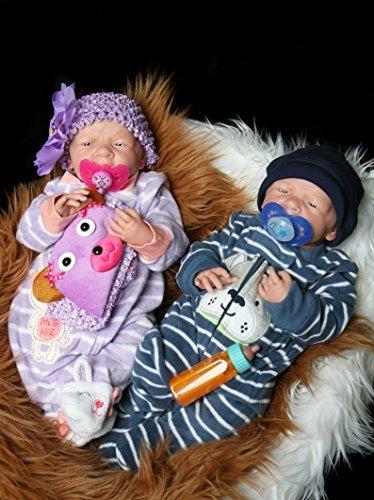 Reborn Bebés Gemelos Barato Niño Y Niña Preemie Anatómica ...