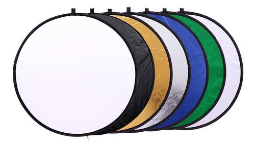rebotador de luz fotografico 7 en 1 nuevo 60cm diametro